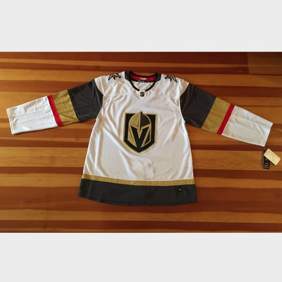 official photos 2d713 b94a3 Vegas Golden Knights NHL Authentic Away Jersey NWT